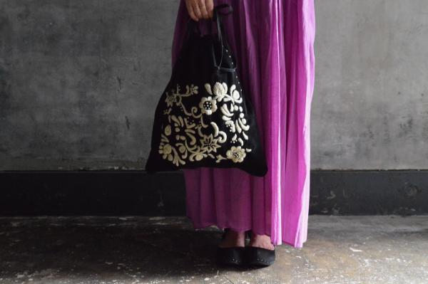 Khadi&Co Velvet Hand Embroidery Bag