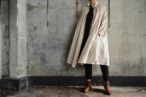 kaval High Count Linen Open Gather Onepiece