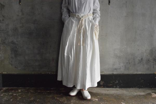 GASA*『マクラメ』Cotton Bamboo Skirt