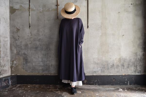 TOKIHO『SOLO-V-LS』Cotton Tricotine Onepiece