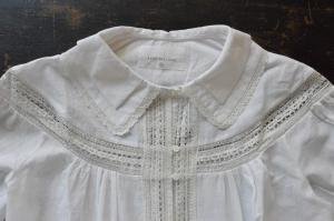 Khadi and Co Double Collar Lace Blouse