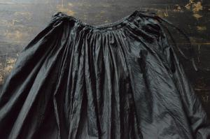 humoresque Silk Gather Skirt Long