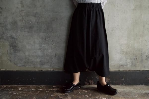 evam eva Not Skirt But Pants Linen with Pocket