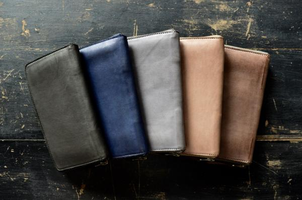 CHRISTIAN PEAU Zip Long Wallet