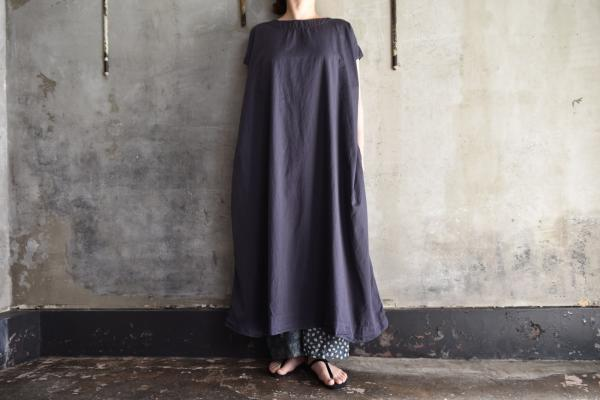 TOKIHO『SOLO-V-SS』C/S Twill French Sleeve Onepiece