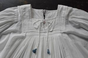 TOWAVASE「Hand Smock」KhadiCotton Hand Smocked Dress