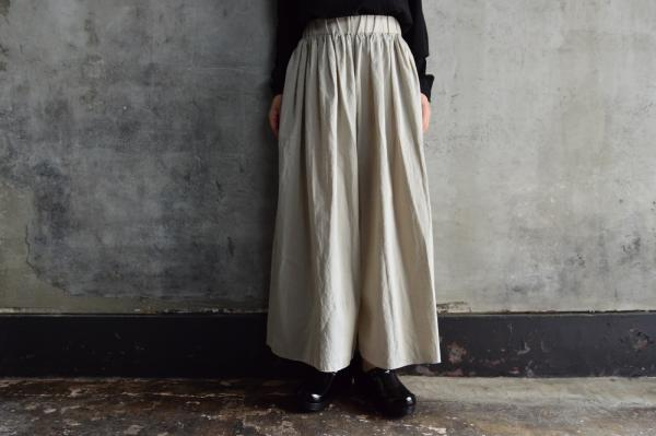 evam eva Gather Wide Pants