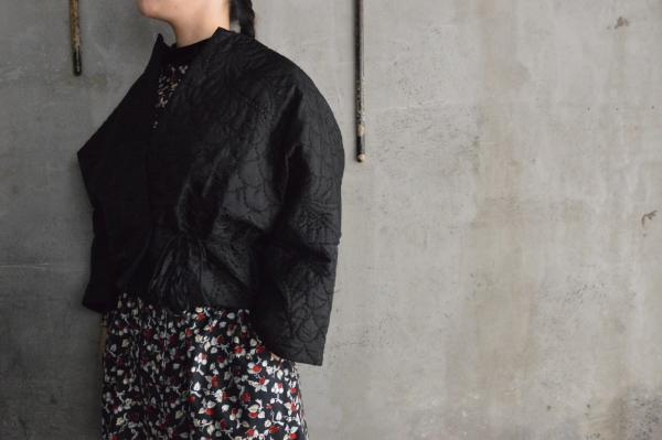 TOWAVASE 「Permanent TOWAVASE」Silk Quilt Jacket