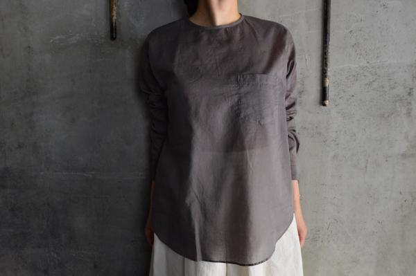 ゴーシュ 100/1 Cotton Lawn Shirt with Pocket