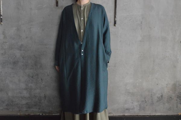 NO CONTROL AIR  Lyocell Nylon 2B Long Cardigan