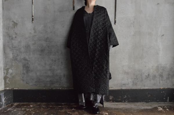 TOWAVASE 「Permanent TOWAVASE」1Ply Silk Quilt Robe