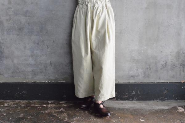FIR MUM 8wale Corduroy Wide Pants