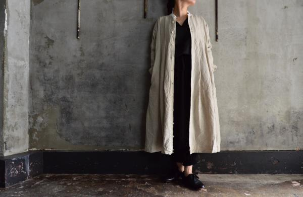 TOKIHO FOR poefu 「NIL-Ⅱ」Open Front Coat Onepiece