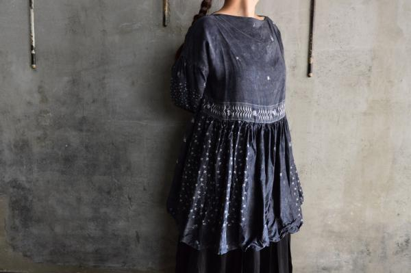 TOWAVASE 「Aquarelle」Silk Printed Blouse