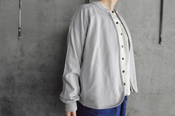 CLOSELY Supima Cotton Micro Sweat Zip up Cardigan