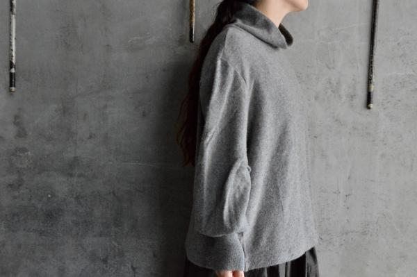 minä perhonen 「sand hill」Pull Over Knit Sew
